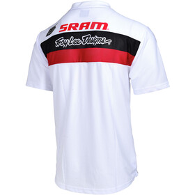 Troy Lee Designs Skyline Air SRAM TLD Jersey Racing Men, white
